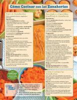 Mensual de las zanahorias