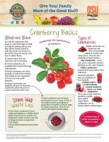 Cranberries Food Hero Monthly