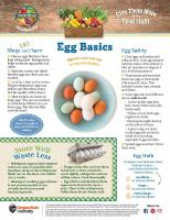 Eggs Food Hero Monthly Page 1
