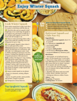 Enjoy Winter Squash