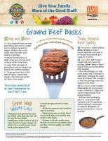 Beef Food Hero Monthly