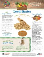 Lentil Food Hero Monthly