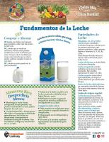 héroe de la comida de leche mensual