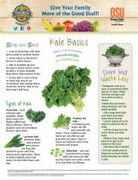 Kale Food Hero Monthly