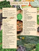 Kale Food Hero Monthly