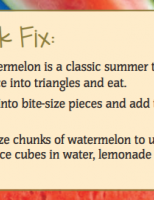 quick fix watermelon