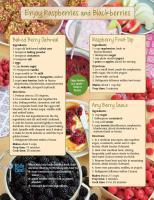 Raspberries and Blackberries Food Hero Monthly