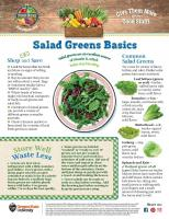 Salad Greens Food Hero Monthly