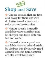 Shop and Save - Winter Squash