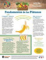 Plátanos - Compras y Ahorros