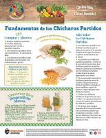 Chícharos Partidos - Héroe de Alimentos Mensuales