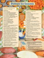 Camotes - Héroe de Alimentos Mensuales