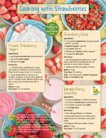 Strawberries Food Hero Monthly