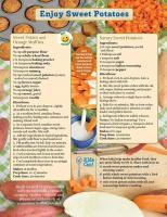 Sweet Potato Food Hero Monthly