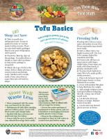 Tofu Food Hero Monthly