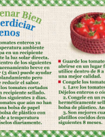 Tomates - Almacenar Bien Desperdiciar Menos