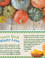 Store Well Waste Less - Winter Squash