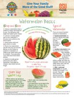Watermelon Food Hero Monthly