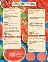 Watermelon Food Hero Monthly
