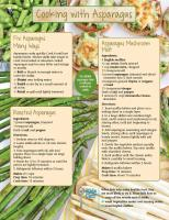 Asparagus Food Hero Monthly