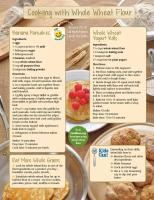 Whole Wheat Flour Food Hero Monthly