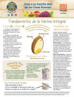 Harina Integral- Compras y Ahorros