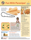 Image of Fun with Parsnips Activity Sheet
