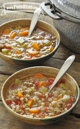 Photo of Beef Barley Soup