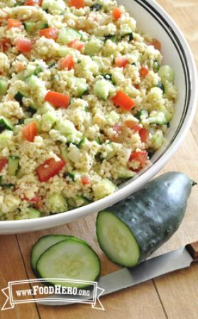 Photo of Cucumber Salad with Tomatoes