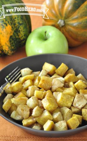 Photo of Baked Apples and Squash