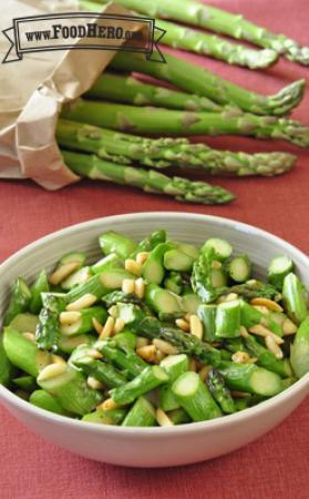 Photo of Ginger Almond Asparagus
