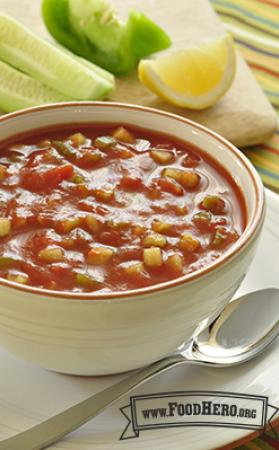 Photo of  Great Gazpacho Soup