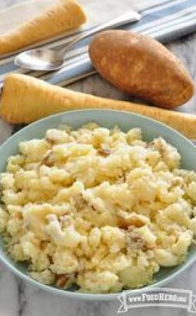 Image of Mashed Parsnips and Potatoes