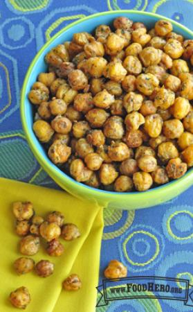 Photo of Dry Roasted Garbanzo Beans