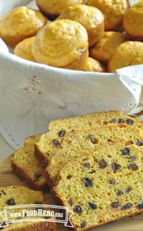 Photo of Sweet Carrot Bread or Muffins
