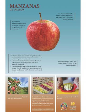 Póster de Manzanas