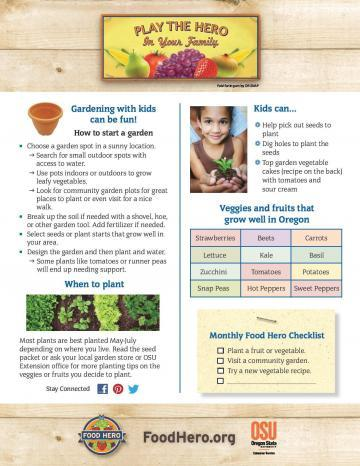 Gardening with kids can be fun!