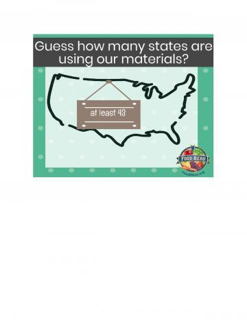 43 States in US Using Food Hero Image