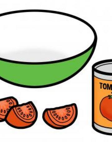 Tomatoes and Bowl