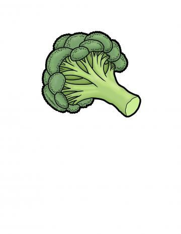 Ilustratión de Brócoli