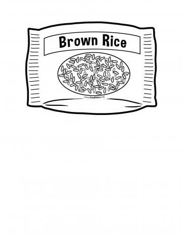 Brown Rice Blackline