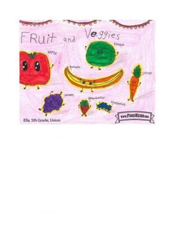 Niños Art Winners - Repollo