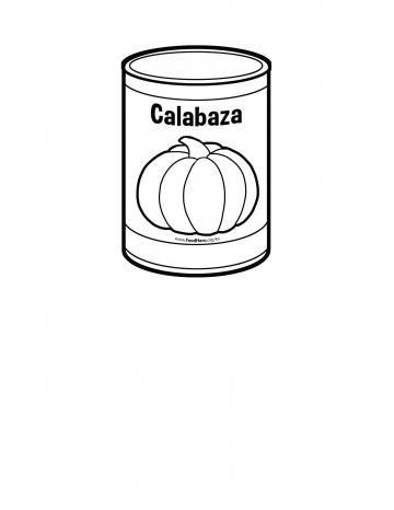 Línea Negra de Conservas de Calabaza
