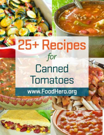Recipes for Canned Tomatoes