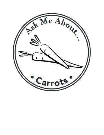 Carrots Handstamp