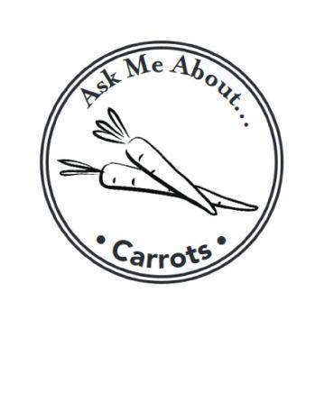 Carrots Handstamp