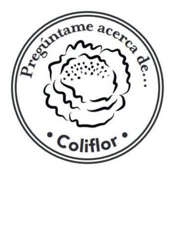 Mano Sello Imagen de Coliflor