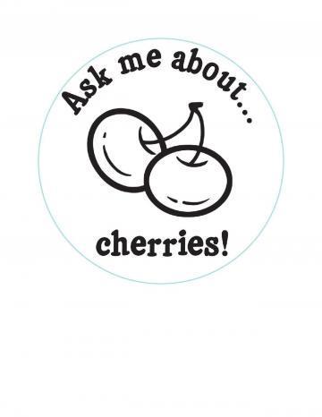 Cherries Hand Stamp
