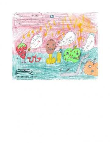 Niños Art Winners - Pollo