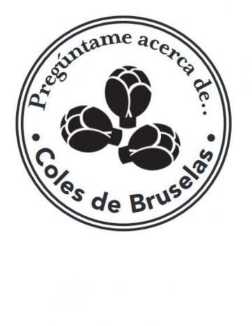 Mano Sello Imagen de Coles de Bruselas